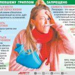 заболевшему гриппом запрещено